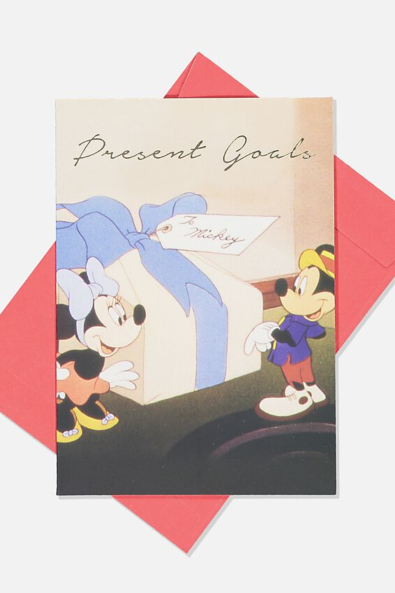 Christmas Card, LCN DIS MICKEY PRESENT