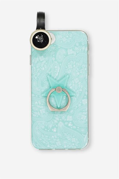Phoneography Kit, AQUA LACE