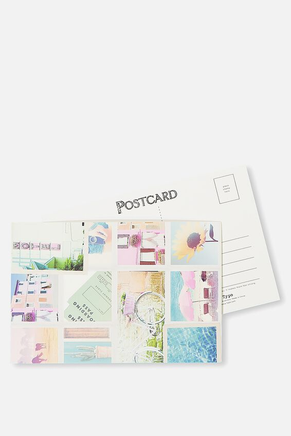 Postcard, COLLAGE