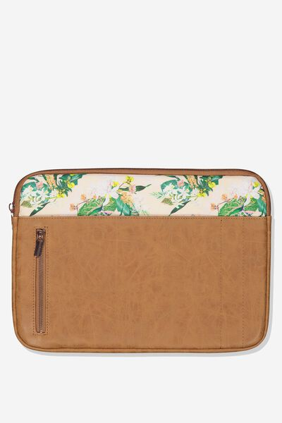 Take Charge Laptop Cover 13 inch, BIRDS OF PARADISE