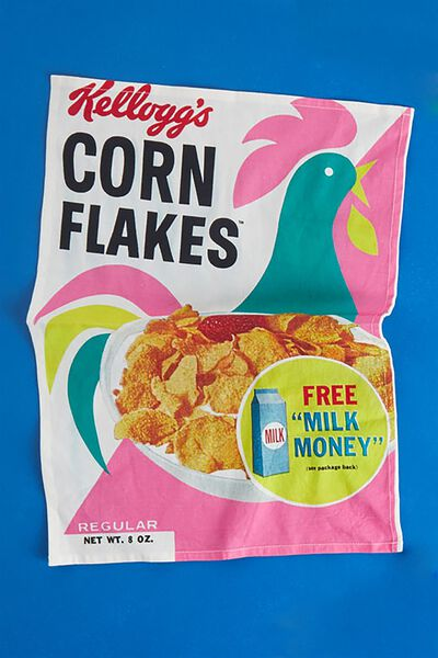 Tea Towel, LCN KELLOGGS CORN FLAKES