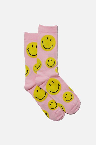 Socks, LCN SMI PINK FACES