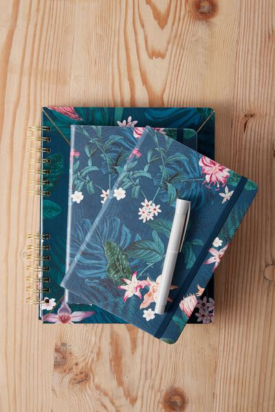 A5 Buffalo Journal, JUNGLE FLORAL
