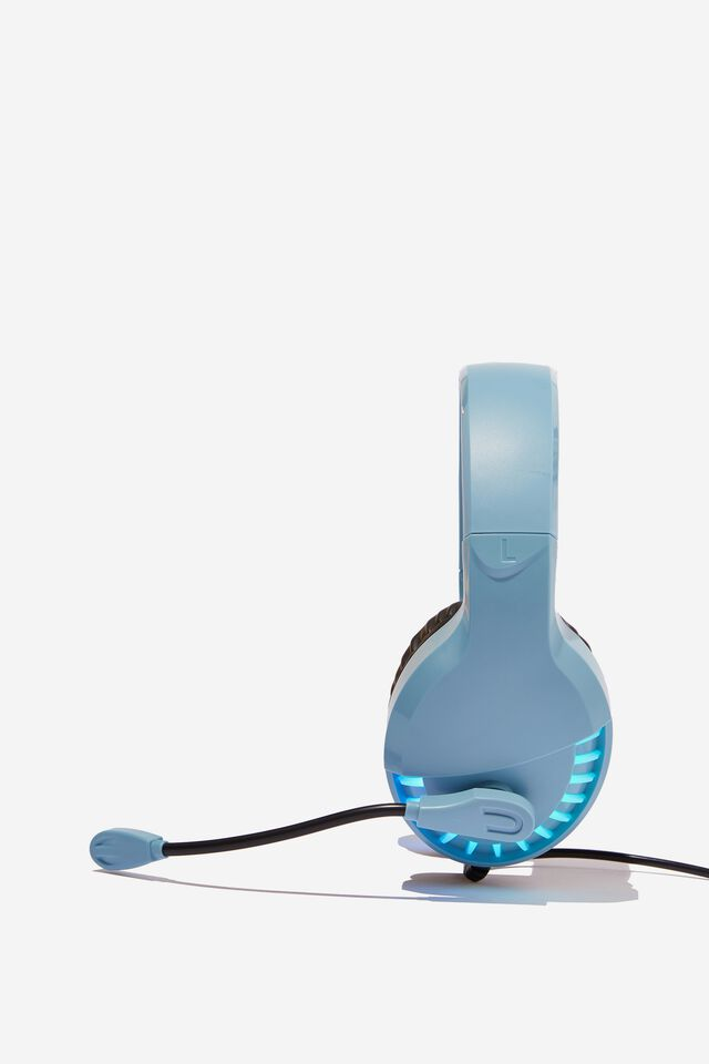 Mic Drop Led Headphone, DENIM BLUE