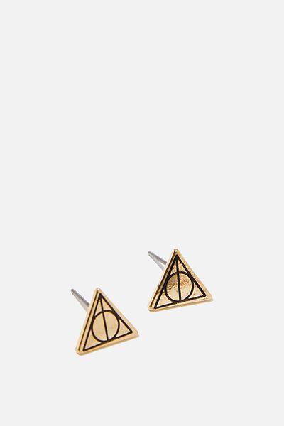 Lcn Novelty Earrings, LCN WB DEATHLY HALLOWS
