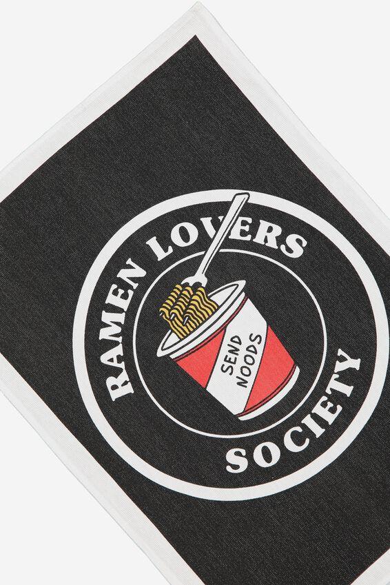 Tea Towel, RAMEN LOVERS
