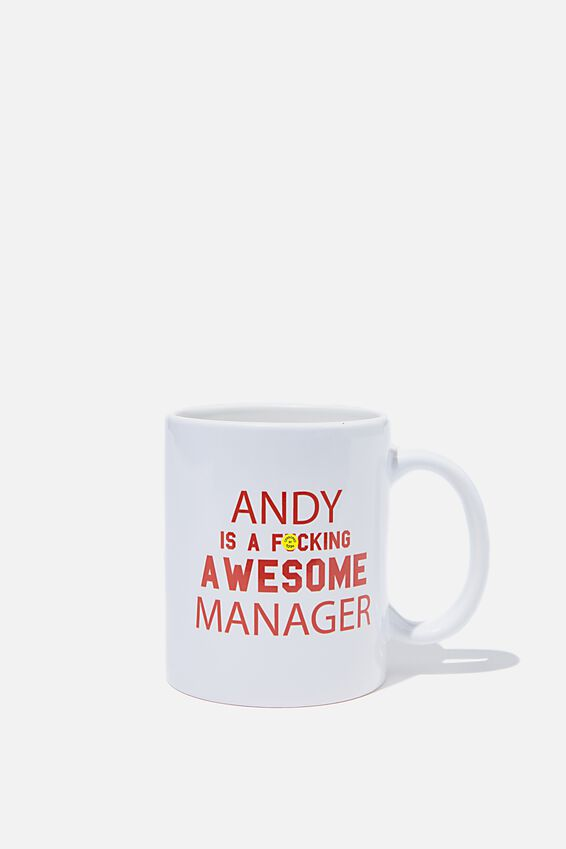 Personalised Mug, IS F#$KING AWESOME