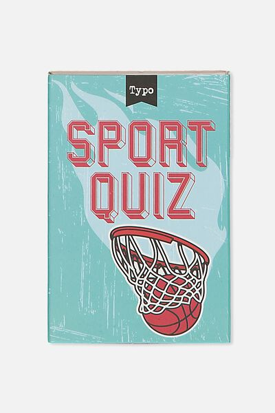 Pocket Trivia Game, SPORTS TRIVIA