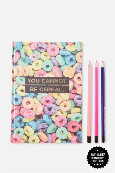 A5 Scented Notebook, LCN FROOT LOOPS