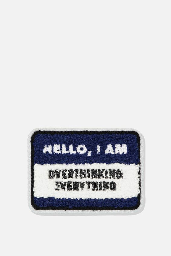 Fabric Badge, OVERTHINKING