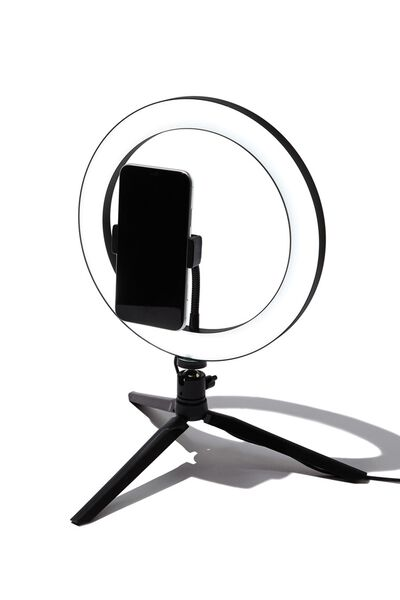 Glow Up 26cm Ring Light, MULTICOLOURED