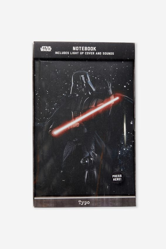 Light Up Musical Notebook, LCN STAR WARS DARTH LIGHT SABER