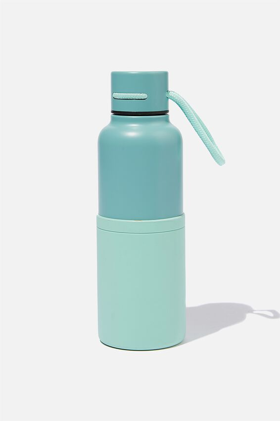 The Loop Metal Drink Bottle, SOFT MOSS