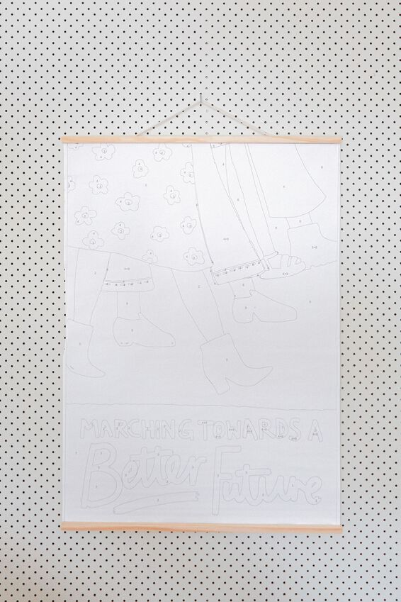Large A1 Paint By Numbers, BETTER FUTURE