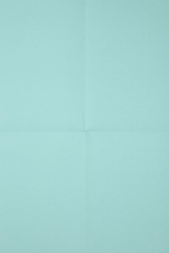Flat Wrapping Paper, FRANKIE BLUE