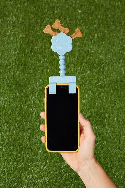 Pet Treat Selfie Clip, DENIM BLUE