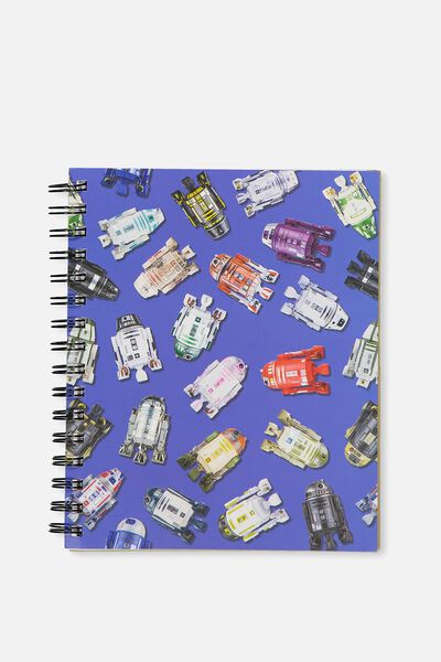 Medium Campus Notebook - 240 Pages, LCN STAR WARS R2D2