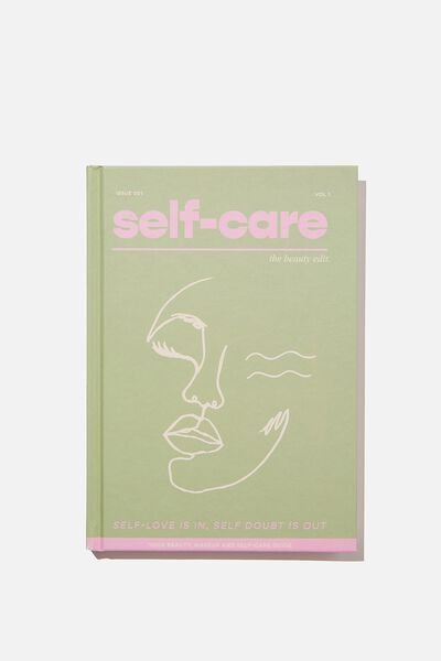 A5 Fashion Activity Journal, THE SELF CARE HAND BOOK