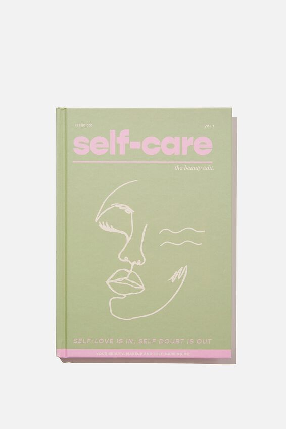 "A5 Fashion Activity Journal (8.27"" x 5.83""), THE SELF CARE HAND BOOK"