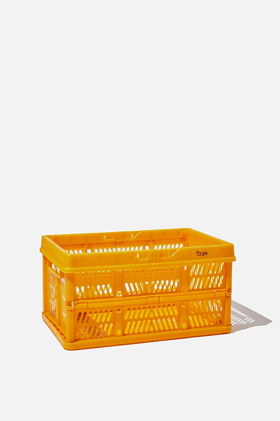 Small Foldable Storage Crate, TUMERIC