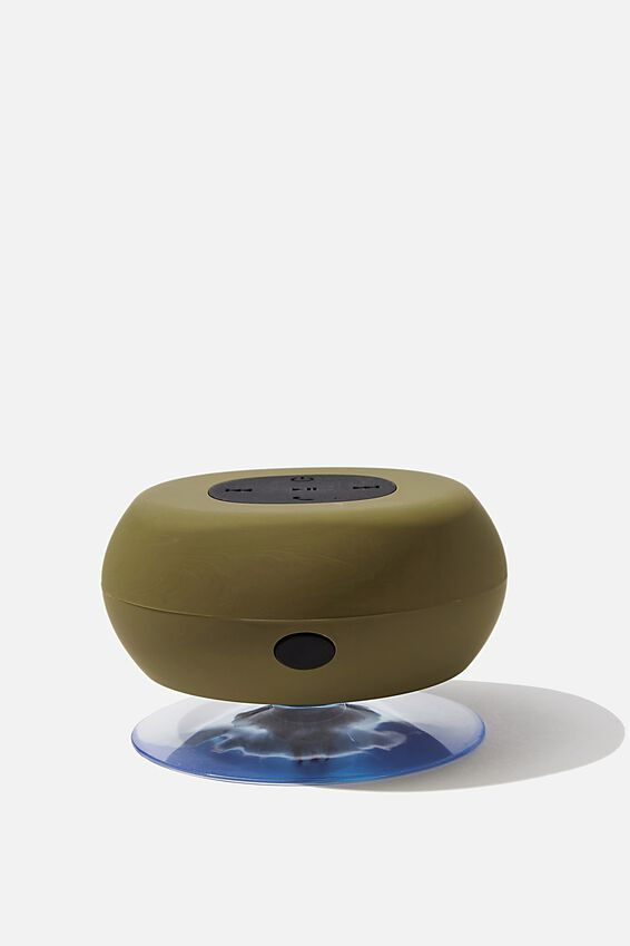 Wireless Shower Speaker, MATTE KHAKI 2 0