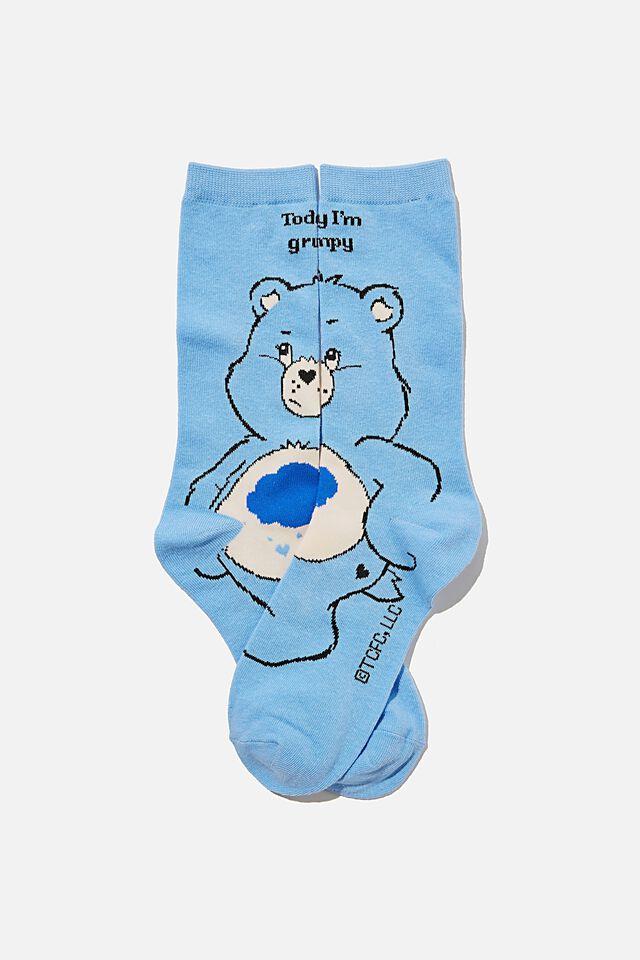 Care Bears Socks, LCN CLC CARE BEARS GRUMPY BEAR