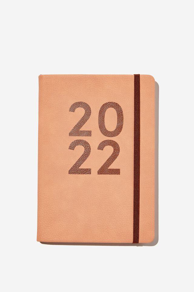 2022 A5 Weekly Buffalo Diary, CLAY