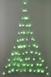 Light Up Christmas Tree, GREEN LIGHT