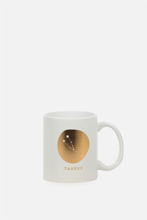 Zodiac Mug, TAURUS