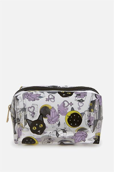 Made Up Cosmetic Bag, CAT YARDAGE