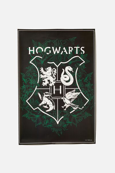 Lcn Poster, LCN WB HP HOGWARTS CREST