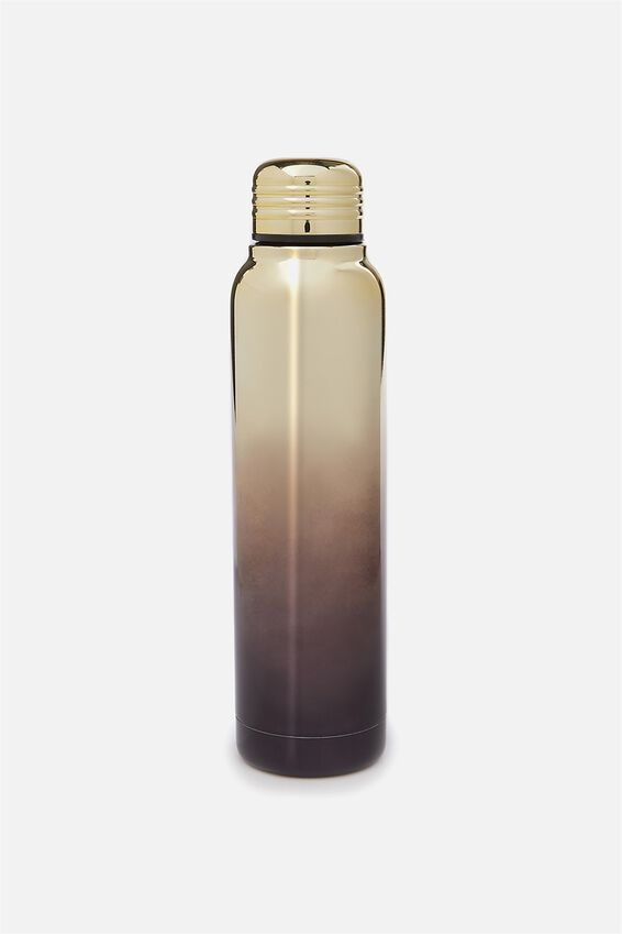 Small Metal Drink Bottle, ELECTROPLATED