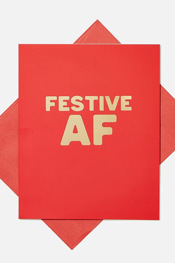 Christmas Card 2020, FESTIVE AF!!