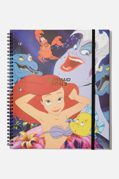 College Ruled Spinout Notebook V, LCN DIS TLM MERMAID GROUPIE