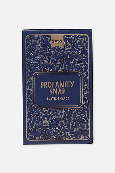 Party Card Game, PROFANITY SNAP!