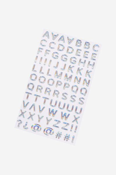 Alpha Sticker Pack, OIL SLICK