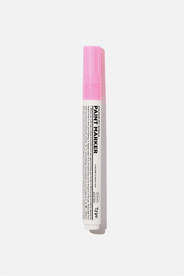 Thick Colour My World Paint Marker, PINK