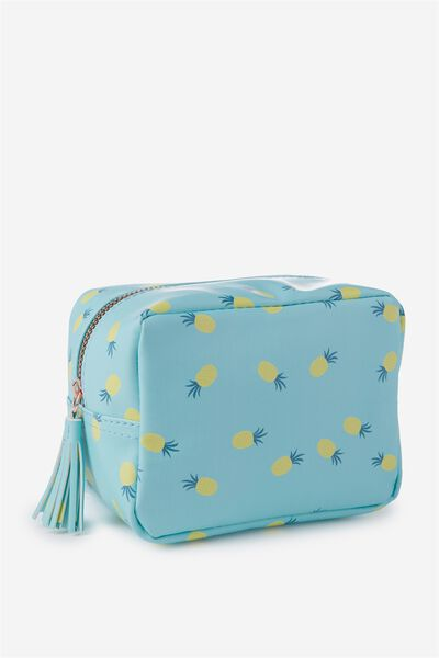 Essential Cosmetic Bag, PINEAPPLES