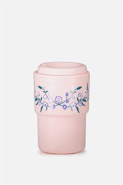 Reuse Me Coffee Cup, FLORAL
