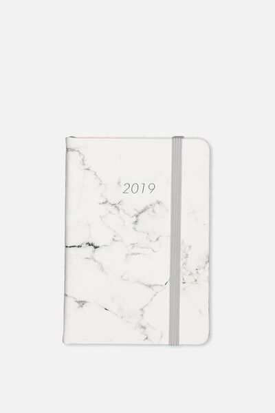 2019 A6 Daily Buffalo Diary, GREY MARBLE