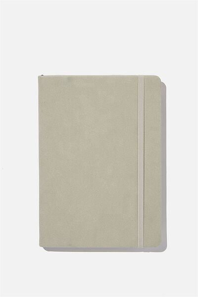 A5 Buffalo Journal, COOL GREY SUEDE