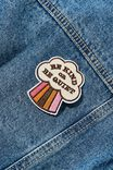 Fabric Badge, BE KIND OR BE QUIET