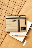 Utility Pencil Case, DRIFTWOOD AND DENIM BLUE