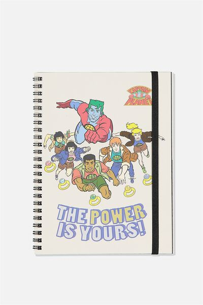 A5 Spinout Notebook Recycled, LCN CNW CP THE POWER IS YOURS