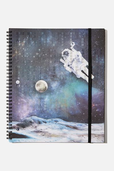 College Ruled Spinout Notebook V, GET A LITTLE SPACE