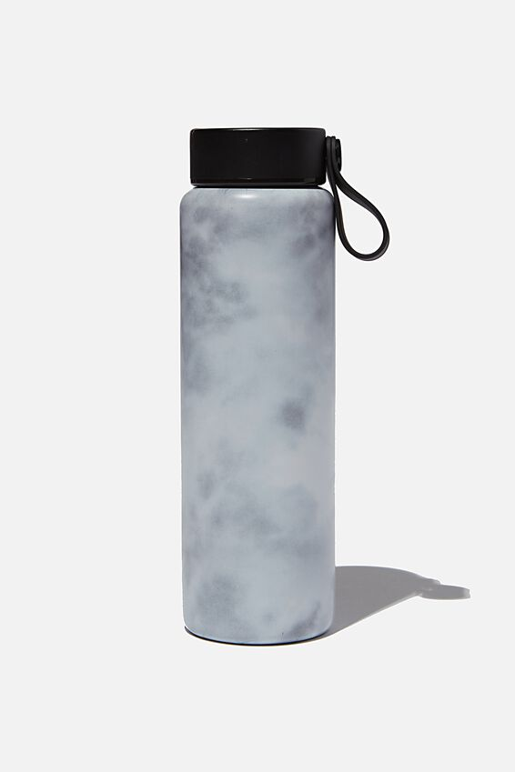 On The Move Metal Drink Bottle 350Ml, SPACEY TIE DYE COOL GREY