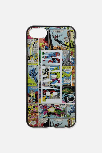 Printed Phone Cover Universal 6,7,8, LCN MARVEL COMIC YARDAGE