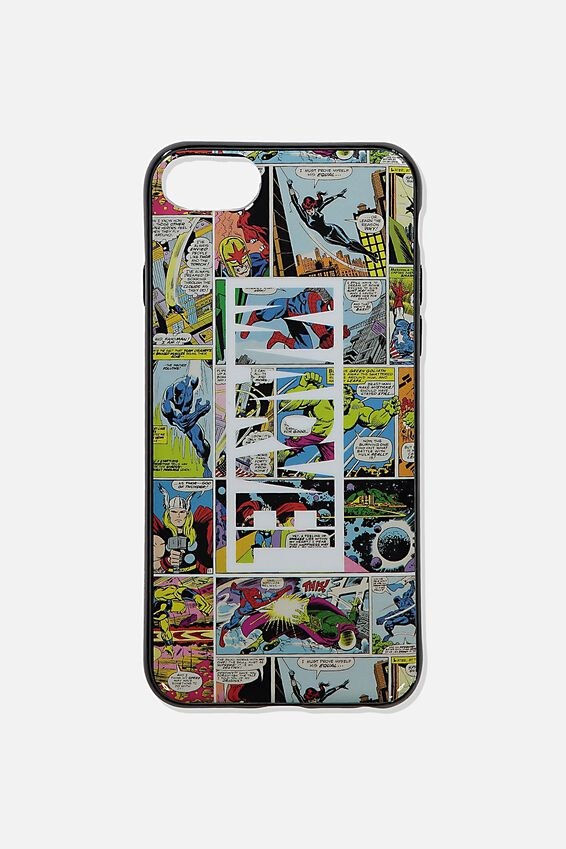 Marvel Printed Phone Cover Universal 6,7,8, LCN MARVEL COMIC YARDAGE