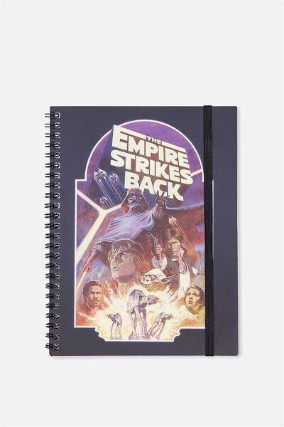 A5 Spinout Notebook - 120 Pages, LCN STAR WARS EMPIRE