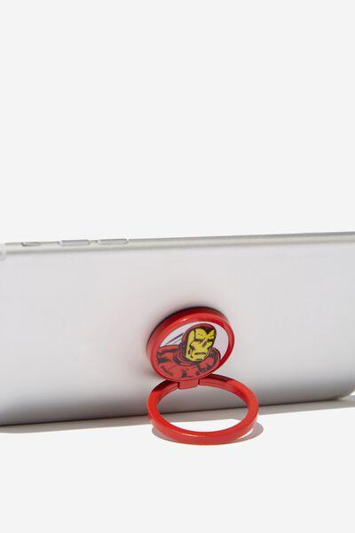 Licenced Metal Phone Ring, LCN MAR IRONMAN